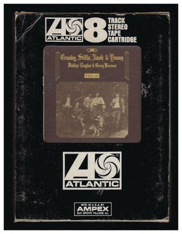 Crosby, Stills, Nash & Young - Deja Vu 1970 AMPEX ATLANTIC A17B 8-TRACK TAPE
