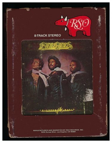 Bee Gees - Children Of The World 1976 RSO AC5 8-TRACK TAPE