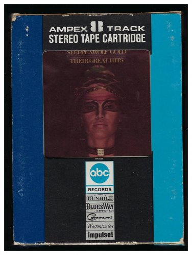 Steppenwolf - Gold Their Great Hits 1970 AMPEX DUNHILL AC5 8-TRACK TAPE