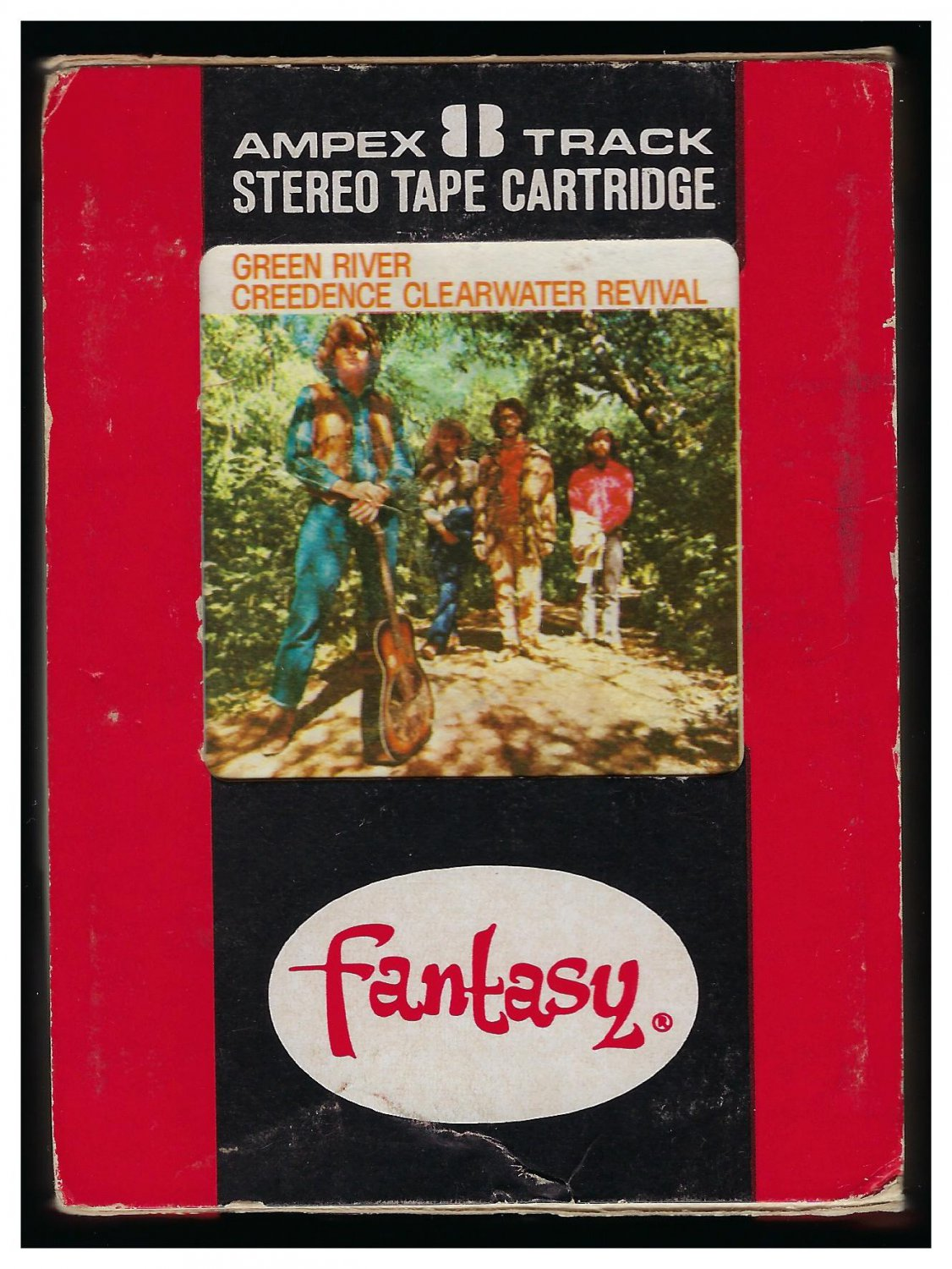 Creedence Clearwater Revival - Green River 1969 AMPEX FANTASY A21C 8-TRACK TAPE