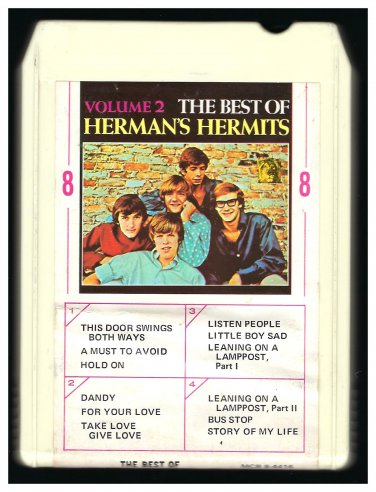 Herman's Hermits - Best Of Herman's Hermits Vol II 1966 AMPEX LEAR MGM A18A 8-TRACK TAPE