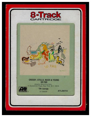 Crosby, Stills, Nash & Young - So Far 1974 RCA ATLANTIC AC3 8-TRACK TAPE
