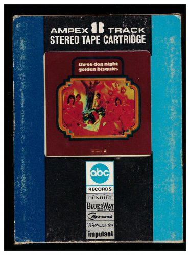 Three Dog Night - Golden Bisquits 1972 AMPEX ABC AC1 8-TRACK TAPE