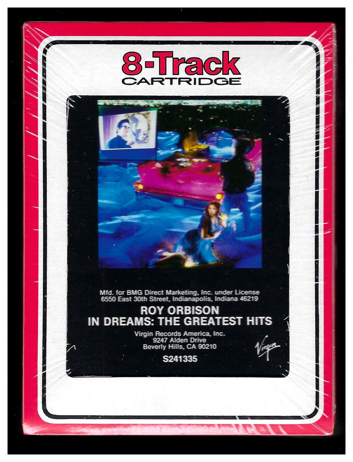 Roy Orbison - In Dreams: The Greatest Hits 1987 RCA VIRGIN Sealed T3 8-TRACK TAPE