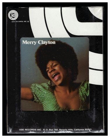 Merry Clayton - Merry Clayton 1971 ODE A&M Sealed A10 8-TRACK TAPE