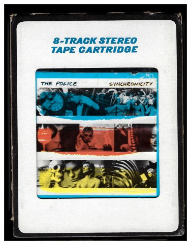 The Police - Synchronicity 1983 CRC A&M AC4 8-TRACK TAPE