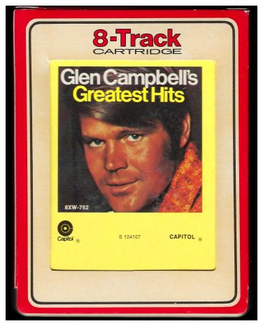 Glen Campbell - Greatest Hits 1971 RCA CAPITOL A23 8-TRACK TAPE