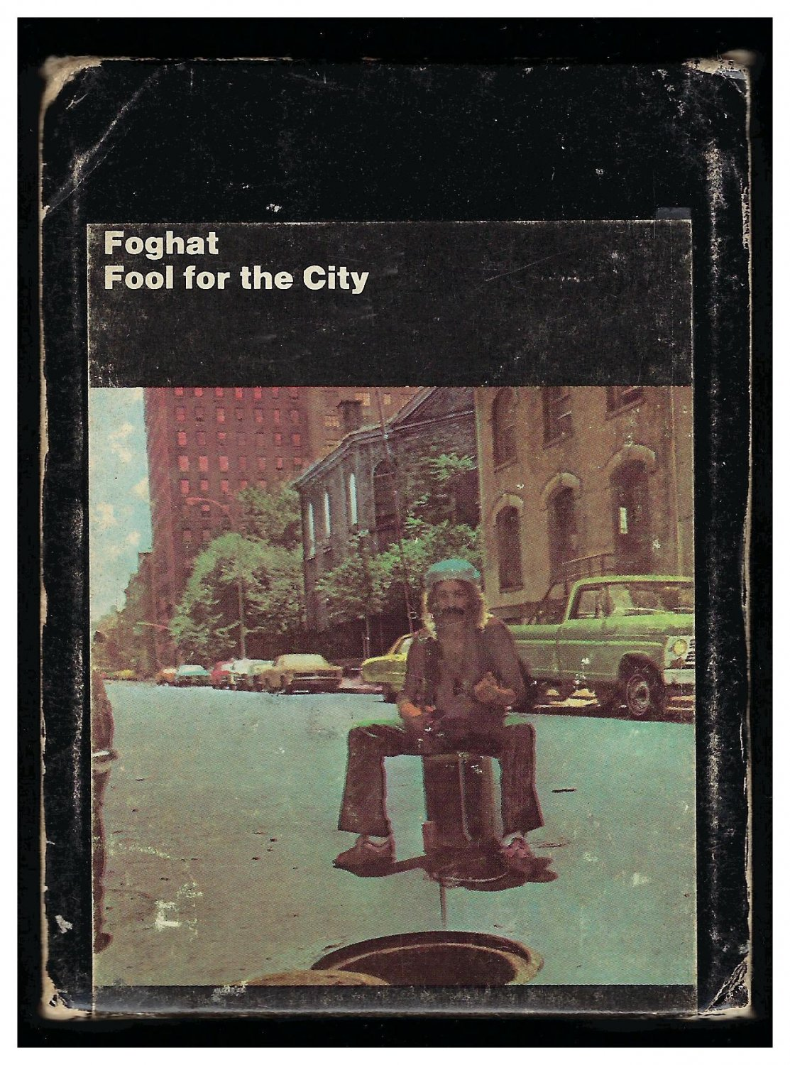 Foghat - Fool For The City 1975 WB A31 8-TRACK TAPE