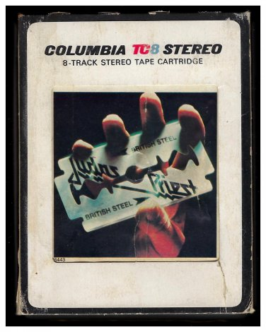 Judas Priest - British Steel 1980 CBS A31 8-TRACK TAPE