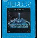 Scorpions - Lovedrive 1979 MERCURY A13 8-TRACK TAPE