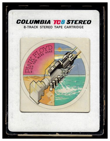 Pink Floyd - Wish You Were Here 1975 CBS A13 8-TRACK TAPE