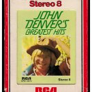 John Denver - Greatest Hits 1973 RCA A39 8-TRACK TAPE