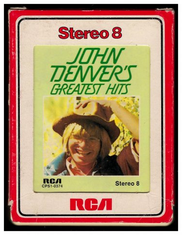 John Denver - Greatest Hits 1973 RCA A39 8-TRACK TAPE