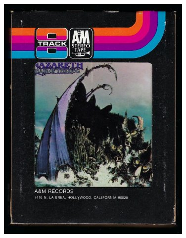 Nazareth - Hair Of The Dog 1975 A&M A39 8-TRACK TAPE