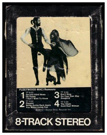 Fleetwood Mac - Rumours 1977 WB A26 8-TRACK TAPE