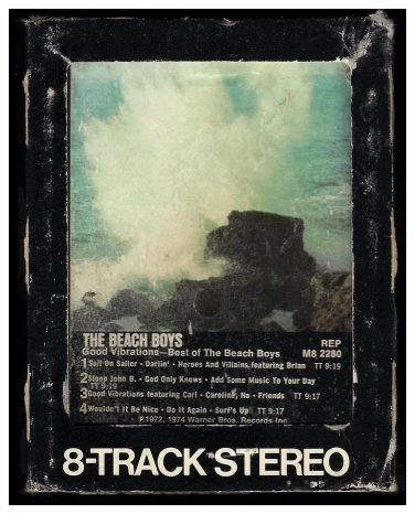 The Beach Boys - Good Vibrations Best Of The Beach Boys 1975 WB A26 8-TRACK TAPE