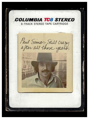 Paul Simon - Still Crazy After All These Years 1975 CBS A18A 8-TRACK TAPE