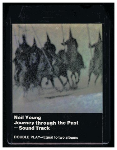 Neil Young - Journey Trough The Past Soundtrack 1972 WB REPRISE A26 8-TRACK TAPE