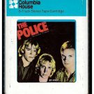 The Police - Outlandos D'Amour 1978 Debut CRC A&M A18C 8-TRACK TAPE