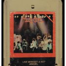 Angel - Live Without A Net 1980 CASABLANCA A53 8-TRACK TAPE