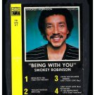 Smokey Robinson - Being With You 1981 TAMLA A33 8-TRACK TAPE