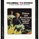Paul Simon & Art Garfunkel - Parsley, Sage, Rosemary And Thyme 1966 CBS A33 8-TRACK TAPE