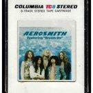 Aerosmith - Aerosmith 1973 Debut CBS A1 8-TRACK TAPE