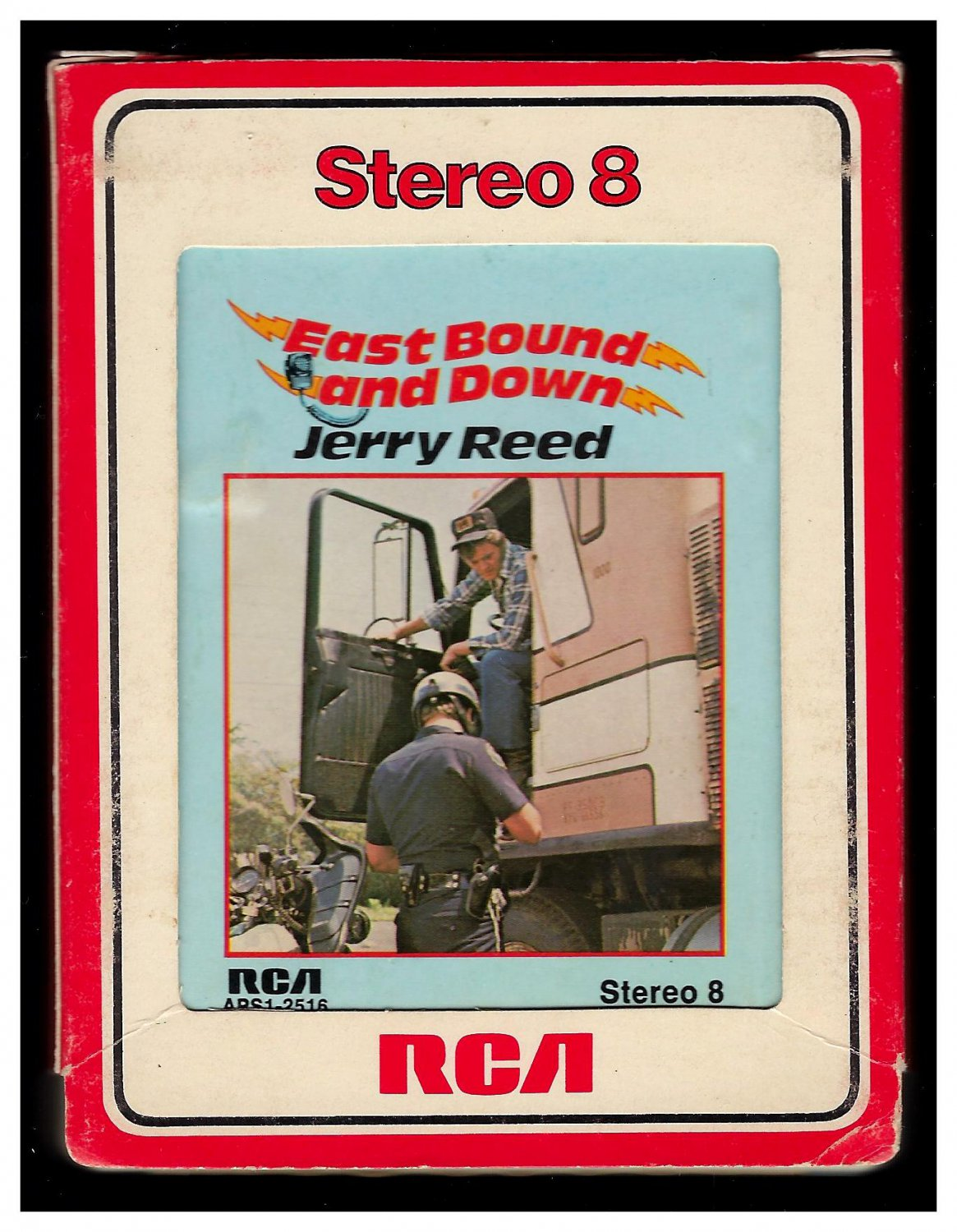 Jerry Reed - East Bound And Down 1977 RCA A26 8-TRACK TAPE