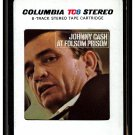 Johnny Cash - At Folsom Prison 1968 CBS A44 8-TRACK TAPE
