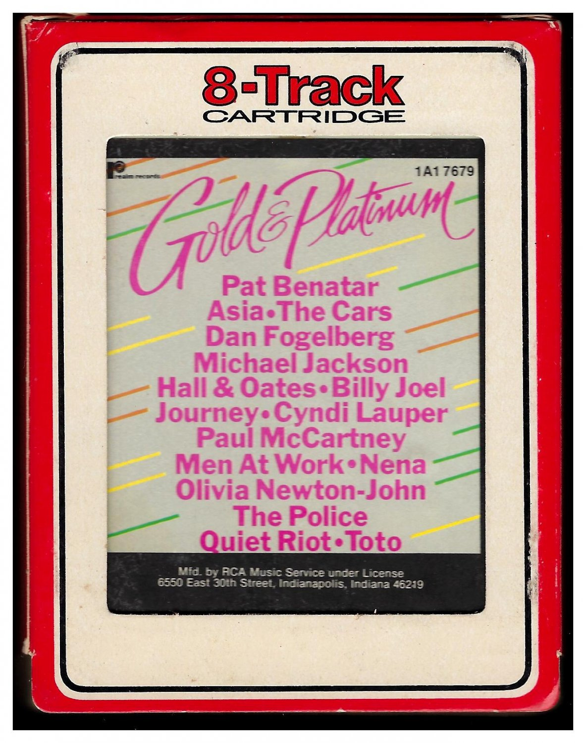 Gold & Platinum - Various Artists 1984 RCA REALM A45 8-TRACK TAPE