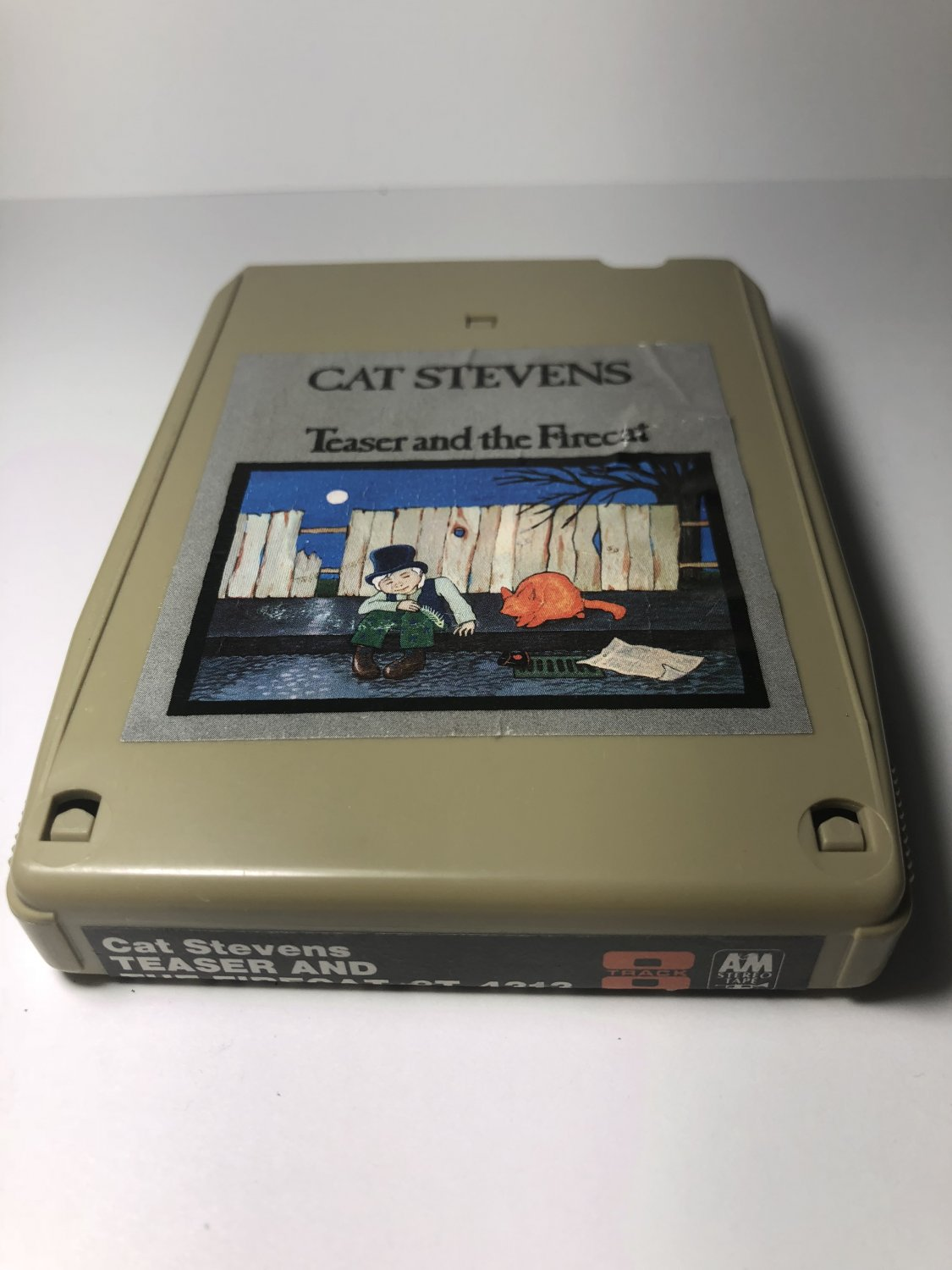 Restore Your Own - Cat Stevens Teaser Fire Cat AS-IS 8-TRACK TAPE