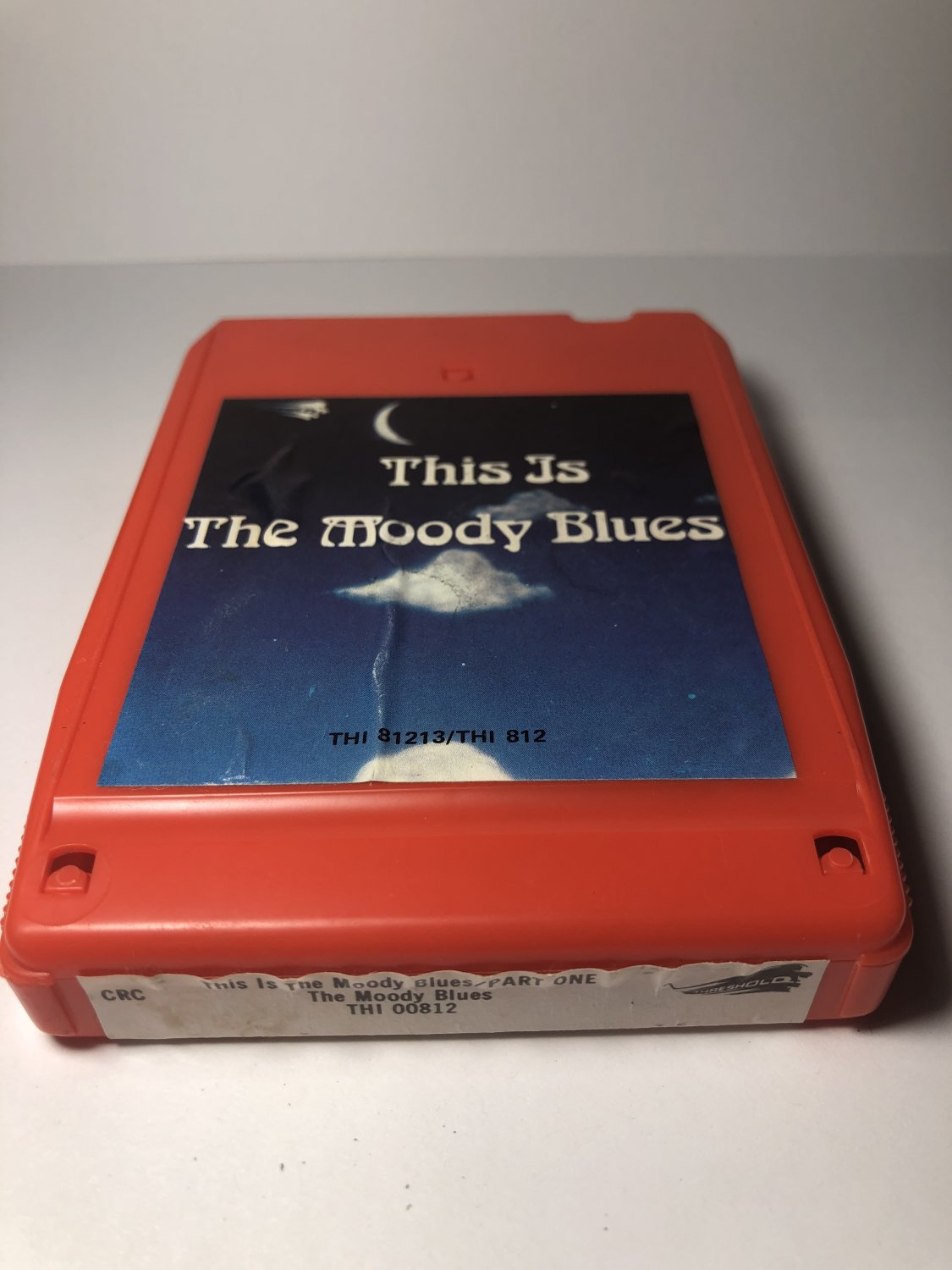 Restore Your Own - Moody Blues This Moody Blues Part 1 AS-IS 8-TRACK TAPE
