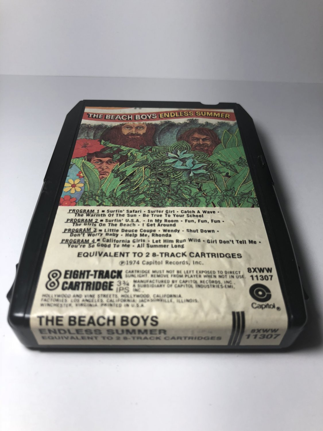 Restore Your Own - Beach Boys Endless Summer AS-IS 8-TRACK TAPE