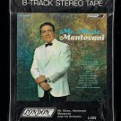 Annunzio Paolo Mantovani - Mr. Music....Mantovani 1966 AMPEX LONDON Sealed Re-issue A30 8-TRACK TAPE