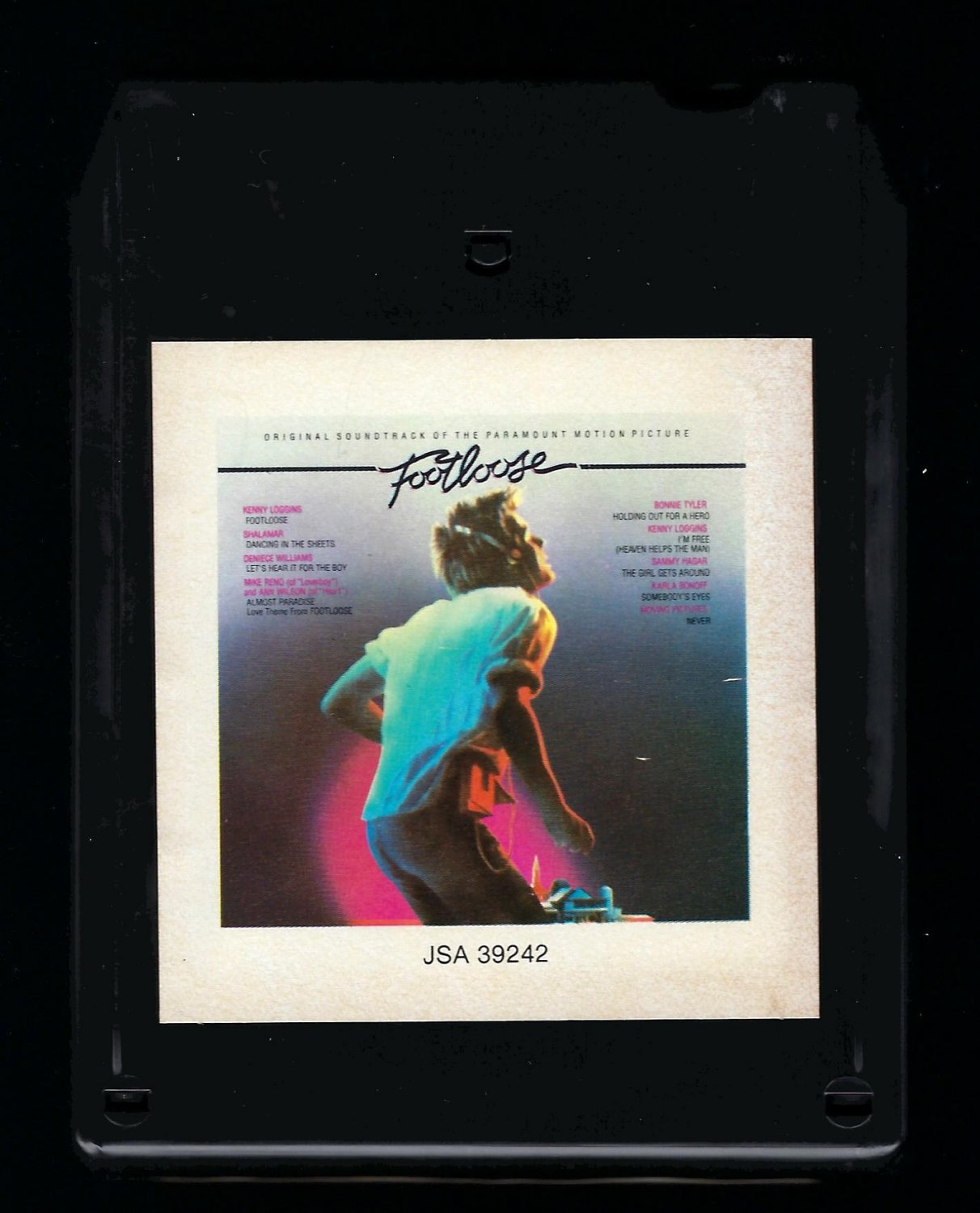 Footloose Original Motion Picture Soundtrack 1984 Crc A32 8 Track Tape