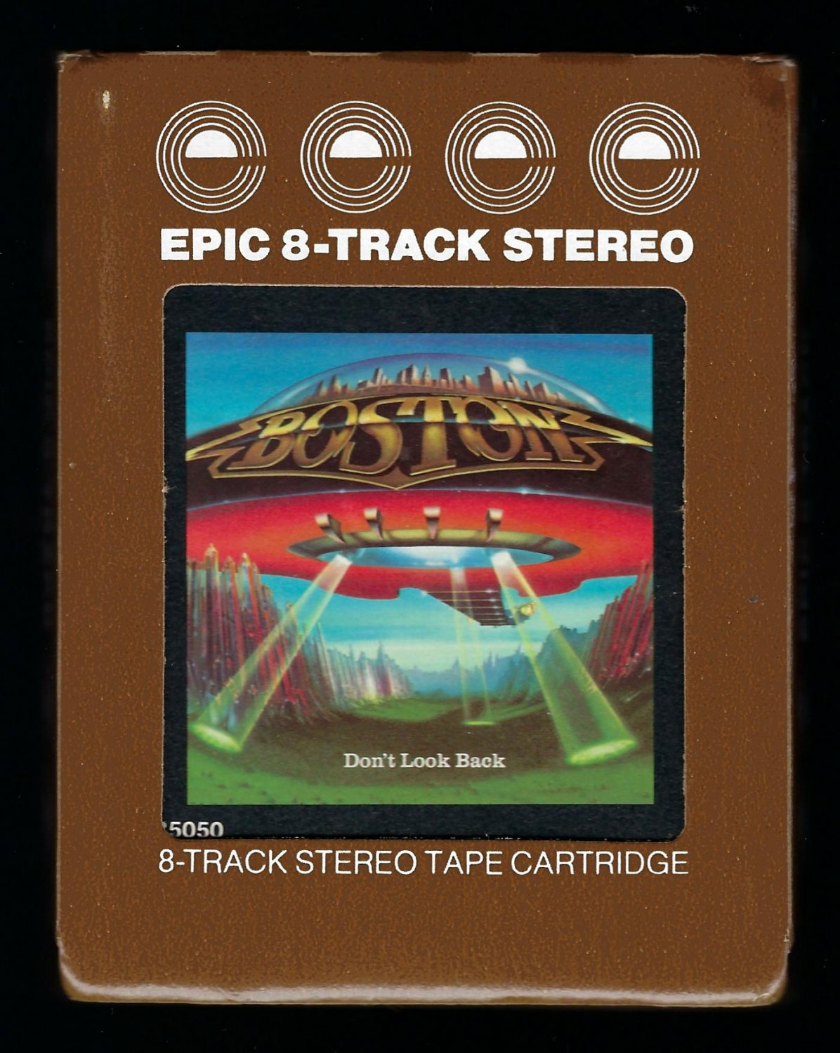Boston - Don't Look Back 1978 EPIC A32 8-TRACK TAPE