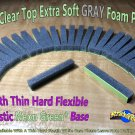 Restore Your Own 30 Clear Top Extra Soft Gray Foam Pads For 8-Track Tape