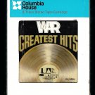 War - Greatest Hits 1976 CRC UA A23 8-TRACK TAPE