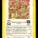 Iron Butterfly - Live 1970 ATCO A9 8-TRACK TAPE