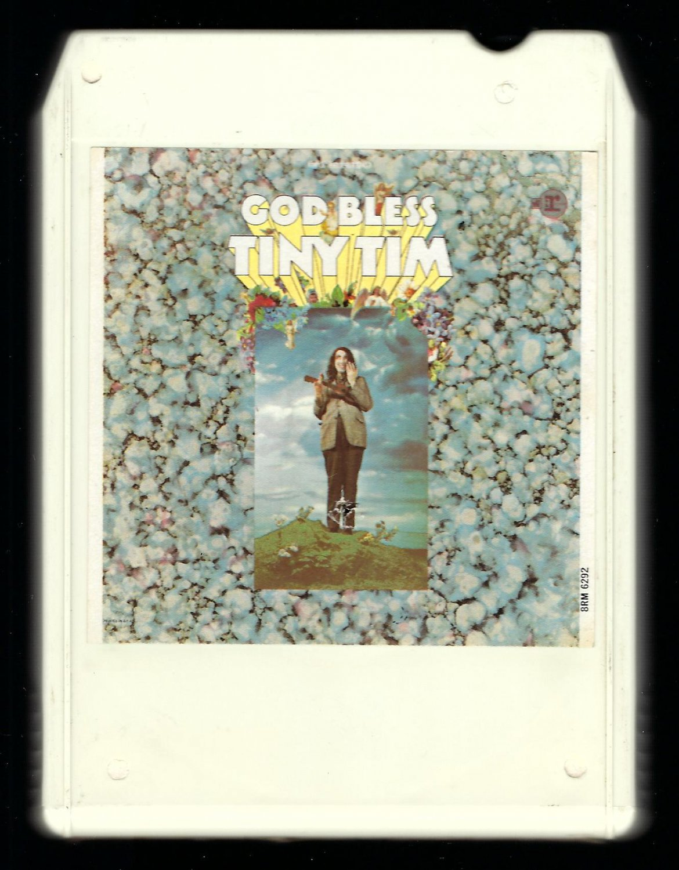 Tiny Tim - God Bless Tiny Tim 1968 Debut LEAR AMPEX REPRISE T2 8-TRACK TAPE