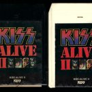KISS - KISS ALIVE II Vol 1 & 2 1977 CASABLANCA A53 8-TRACK TAPE