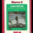 John Denver - Rocky Mountain High 1972 RCA A53 8-TRACK TAPE
