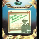 Gene Autry - Christmas Classics 1978 GUSTO A53 8-TRACK TAPE