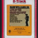 Hank Williams Sr. - Live At The Grand Ole Opry 1976 RCA MGM Sealed A23 8-TRACK TAPE