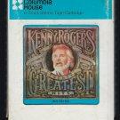 Kenny Rogers - Twenty Greatest Hits 1983 CRC A11 8-TRACK TAPE
