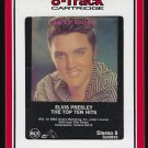 Elvis Presley - The Top Ten Hits 1987 RCA T9 8-TRACK TAPE