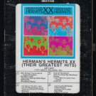 Herman's Hermits - XX Their Greatest Hits 1973 ABKCO T9 8-TRACK TAPE