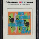 Elvis Costello And The Attractions - Get Happy!! 1980 CBS T1 8-TRACK TAPE