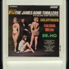 Roland Shaw Orchestra - 007 The James Bond Thrillers 1964 AMPEX LEAR LONDON T9 8-TRACK TAPE