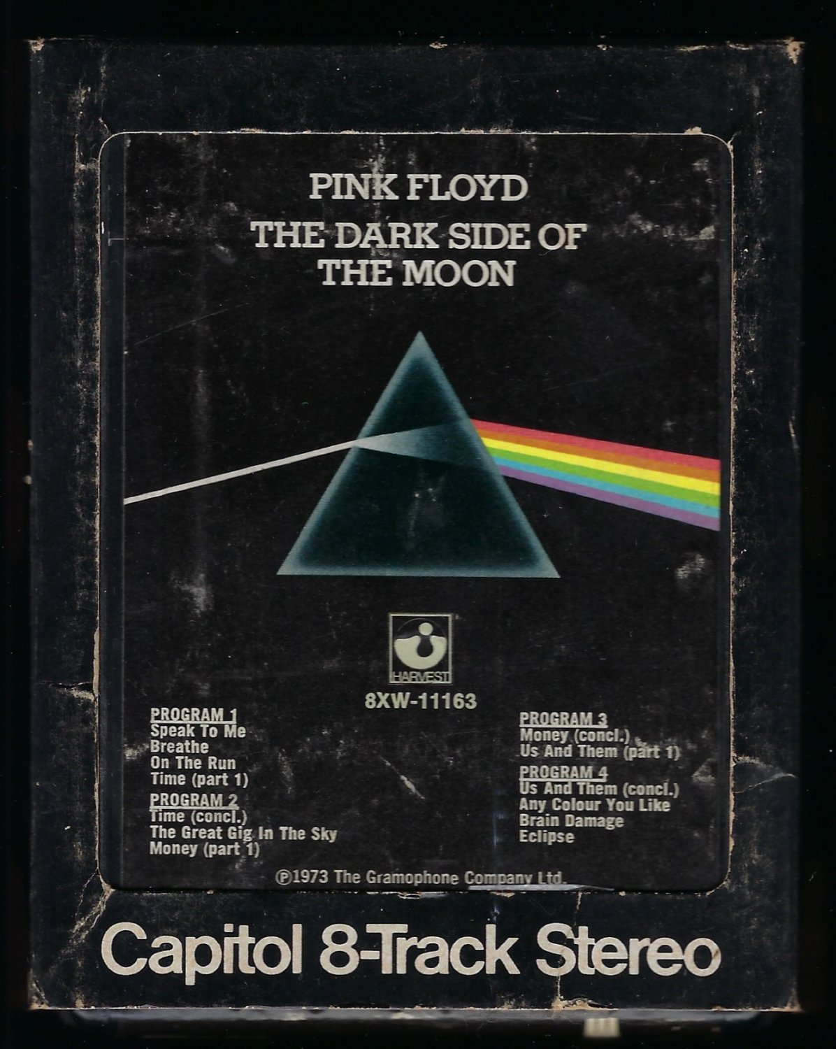 Pink Floyd - The Dark Side Of The Moon 1973 CAPITOL T9 8-TRACK TAPE